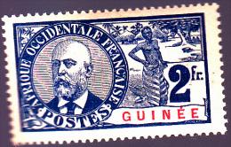 GUINEE : Eugène Ballay : Y&T : 46* - Guinée Française (1892-1944)