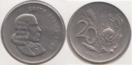 Sud Africa 20 Cents 1965 (English Legend-SOUTH AFRICA) Km#69.1 - Used - Sud Africa