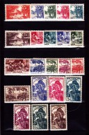 GUINEE : : Y&T :125 à 146* - Guinée Française (1892-1944)