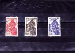 GUINEE : : Y&T 166 à 168o - Guinée Française (1892-1944)