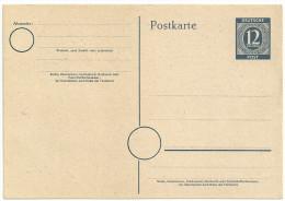 Deutschland Alliierte Besetzung Gemeinschaftsausgaben Ganzsache GS P 954 P954 Ungebraucht, NEU - Gemeinschaftsausgaben