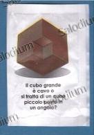 CUBO GEOMETRIA ILLUSION - ILLUSIONE - BUSTINA DI ZUCCHERO VUOTA - Sugar Empty - Sugars