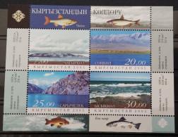Kyrgyzystan, 2005, Mi: Block 43, (MNH) - Vissen