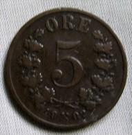 NORWAY 1902 - 5 ORE - Norway