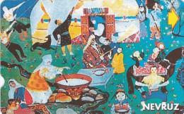 Turkey, N-092, Nevruz-Newroz/Spring,peace,friendship,brotherhood Fest 2 Of, 2 Scans. - Turchia
