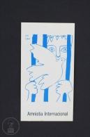Pablo Picasso Painting - Amnesty International -  Sticker - Pegatinas