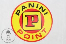 Panini Point Advertising Sticker - Pegatinas