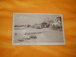 CARTE POSTALE ANCIENNE CIRCULEE DE 1929. / LE KRAM.- LA PLAGE. / CACHETS + TIMBRE - Tunisia