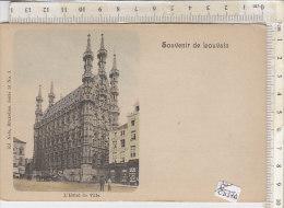 PO2537D# BELGIO - LOUVAIN - HOTEL DE VILLE - Acquerellata   No VG - Leuven
