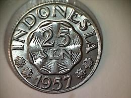 Indonésie 25 Sen 1957 - Indonésie