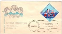 Pakistan. 1969 Universal Children Day FDC