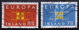 Iceland 1963 EUROPA MiNr.373-74 ( Lot B 1920 ) - 1944-... Republik