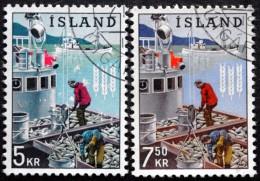 Iceland 1963  Fischfang   MiNr.370-71 ( Lot B 1933 ) - 1944-... Republik
