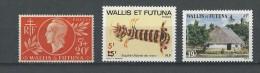 Wallis Et Futuna: 147 - 276 - 302 ** - Neufs