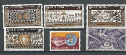 Wallis Et Futuna:  PA 4 - 27 - 58/ 61 ** - Poste Aérienne