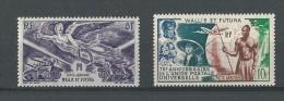 Wallis Et Futuna:  PA 4 Et 11 * - Poste Aérienne