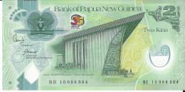 NOUVELLE GUINEE - 2 Kina Polymer 35 Ans 1973-2008 UNC - Papouasie-Nouvelle-Guinée