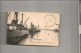 """Cpa Navire Bateau Identifié  """" Quickstep """"  Whiterington Et Benett  Britannique1909 Sunderland Transport Maritime CACHET - Commercio"""