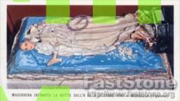 Morsella (Vigevano) - RARO Santino Antico MADONNINA INFRANTA LA NOTTE DALL'8 AL 9 OTTOBRE 1961 - OTTIMO L32 - Religione & Esoterismo