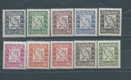 MARTINIQUE  TAXE N° 27:36 * * TB - Martinique (1886-1947)