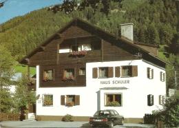 NºA/9/87 HAUS SCHULER - FAM. ALFRED SCHULER - ST. ANTON A. A. - Autriche