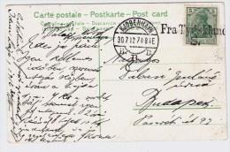 DR, 1912, Schiffspost-Stp. , #2536 - Deutschland