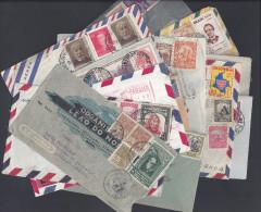 AMERIQUE - LOT DE 18 LETTRES -  6 BRESIL - 6 COLOMBIE - 3 ARGENTINE - 2 REP. DOMINICAINE - 1 PANAMA - - Briefmarken