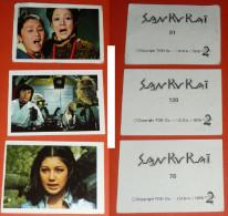 Rare Lot 3 Images SAN KU KAI, TOEI Co 1979 A2 Collection Image Manga - Other Collections