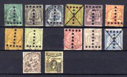 Taxes Perforés  T  , Entre 11 Et 38, Cote 68 €,   Bonne Qualité Neuf Et Oblitérés - Tunisia (1888-1955)