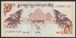 Bhutan 5 Ngulthrum 2006 P29 UNC - Bhoutan