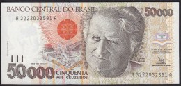 Brazil 50000 Cruzeiros 1992 P234 UNC - Brésil