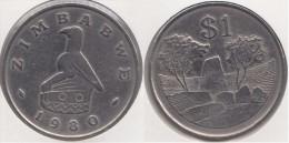 Zimbabwe 1 Dollar 1980 Km#6 - Used - Zimbabwe
