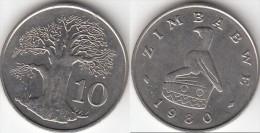 Zimbabwe 10 Cents 1980 Km#3 - Used - Zimbabwe
