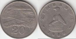 Zimbabwe 20 Cents 1980 Km#4 - Used - Zimbabwe