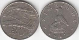 Zimbabwe 20 Cents 1983 Km#4 - Used - Zimbabwe
