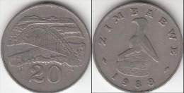 Zimbabwe 20 Cents 1988 Km#4 - Used - Zimbabwe