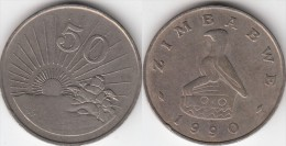 Zimbabwe 50 Cents 1990 Km#5 - Used - Zimbabwe