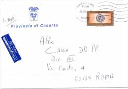 PROVINCIA DI CASERTA - 81100 - CASERTA  - 2004 - PP - FTO 12X17 - TEMATICA TOPIC STORIA COMUNI D´ITALIA - Affrancature Meccaniche Rosse (EMA)