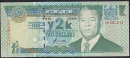 Fiji 2 Dollar 2000 P102 UNC - Fidji