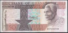 Ghana 50 Cedis 1980 P22b UNC - Ghana
