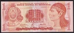 Honduras 1 Lempiras 2000 P84a UNC - Honduras