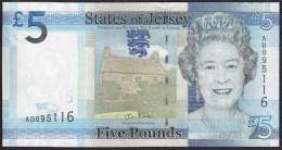 Jersey 5 Pound 2010 P33 UNC - Jersey
