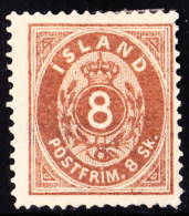 Iceland Scott #3 Used With Certificate - Oblitérés