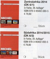 MICHEL Africa Band 6/1+2 Katalog 2015 Neu 160€ Zentral-/Süd-Afrika Angola Guinea Gabun Kongo Lesetho Malawi Namiba Zaire - Art Africain
