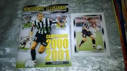 Juventus Monografie Illustrate Campionato 2000-01,album Vuoto +set Completo Foto  ( 24 )  Copertina Zinedine Zidane - Vignettes Autocollantes