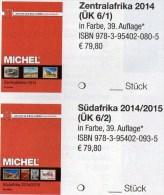 MICHEL Africa Band 6/1+2 Katalog 2015 Neu 160€ Zentral-/Süd-Afrika Angola Guinea Gabun Kongo Lesetho Malawi Namiba Zaire - Alte Papiere