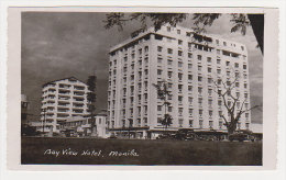 BAY VIEW HOTEL, Manila (Philippines / Filipinas). Vintage Postcard - Hoteles & Restaurantes