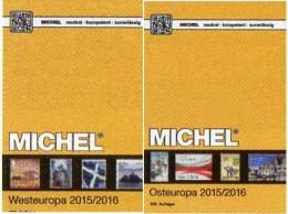 Ost-/West-Europa Katalog 2015/2016 Neu 132€ MICHEL Band 6+7 B GB NL L EIRE Jersey Man PL USSR RU Moldawia UA Weißrußland - Kataloge & CDs