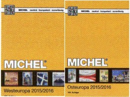 Ost-/West-Europa Katalog 2015/2016 Neu 132€ MICHEL Band 6+7 B GB NL L EIRE Jersey Man PL USSR RU Moldawia UA Weißrußland - Alte Papiere