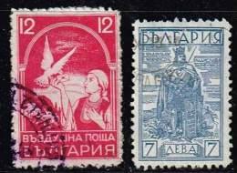 Bulgarien 1931/5, Michel# 238 + 289 O - 1909-45 Kingdom